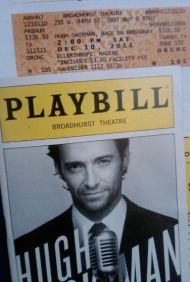 HUGH JACKMAN – BACK ON BROADWAY