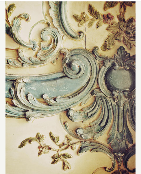 A cornice fragment from Versailles, France